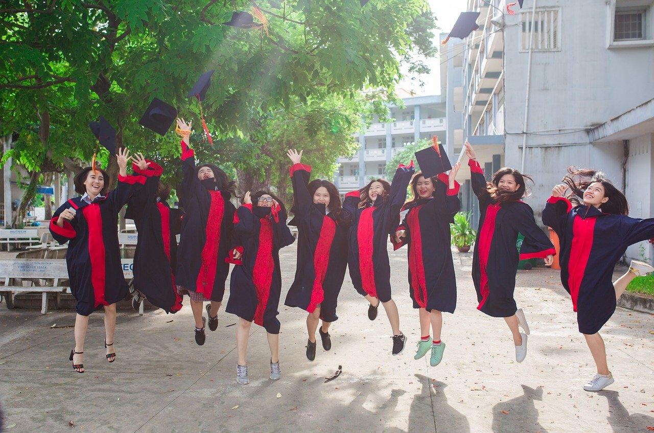 friend, student, graduate